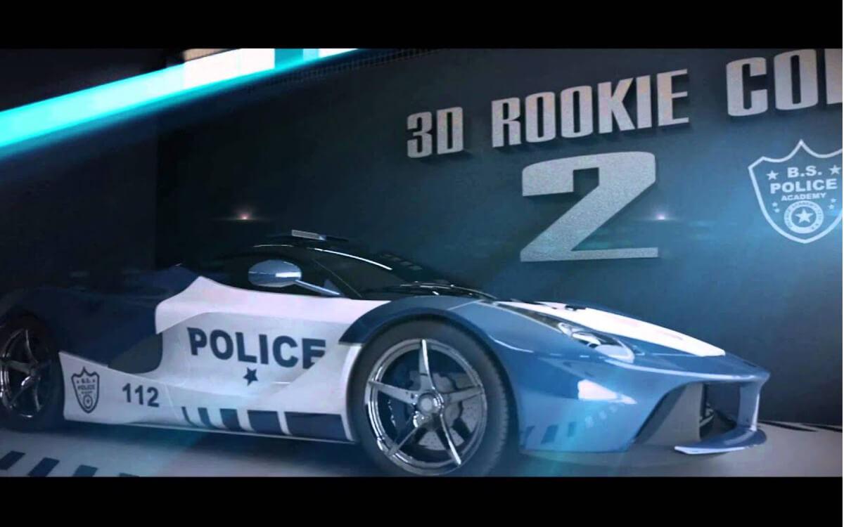 3d Rookie Cop 2