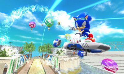 Sonic Free Riders – Kinect